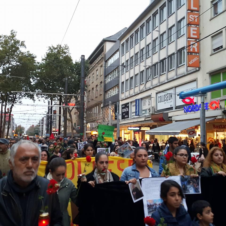 karlsruhe protesto