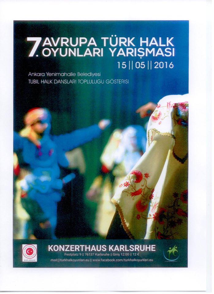 7. Avrupa Türk Halk Oyunları Yarışması- Video Haber