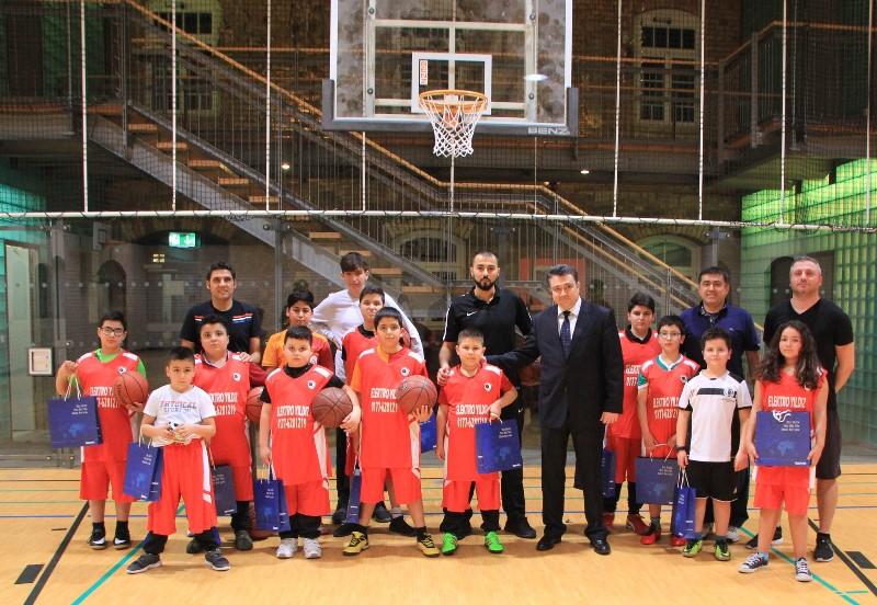 Anıl Toprak Karlsruhe Basketbol Okulunu Ziyaret Etti