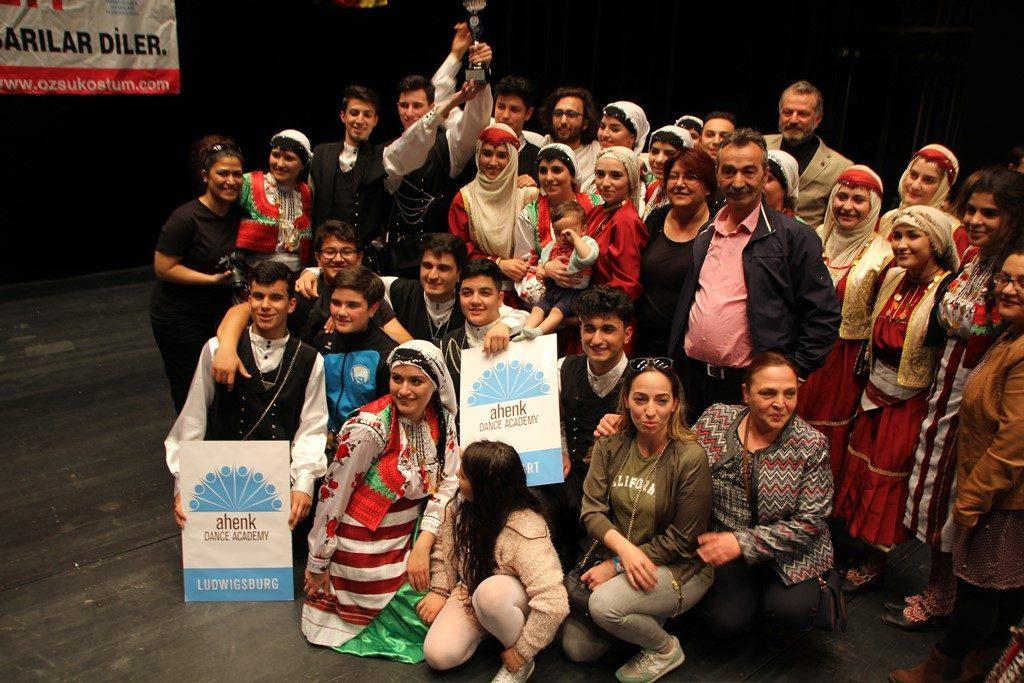 Ahenk Dance Academy Avrupa Şampiyonu Oldu