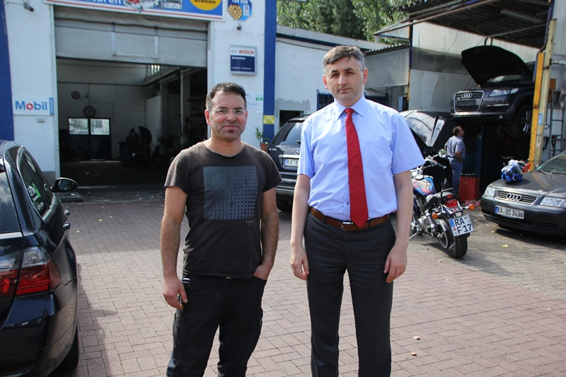 Çalışma Ataşesi Muhammet Kıran ' Meslek Eğitimi veren Türk işletme sayısı artışı mennuniyet verici.'