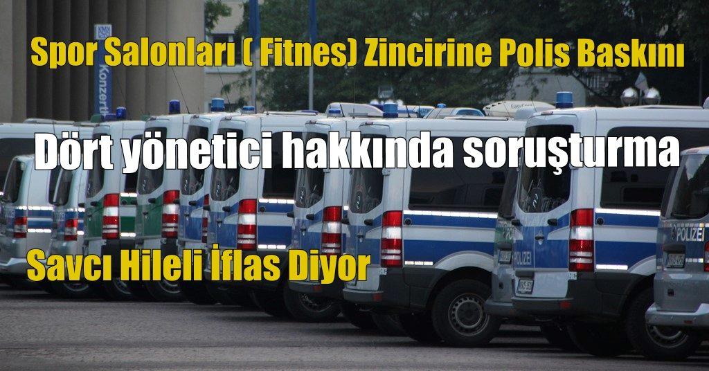 Mali Polis Baskın Yaptı.