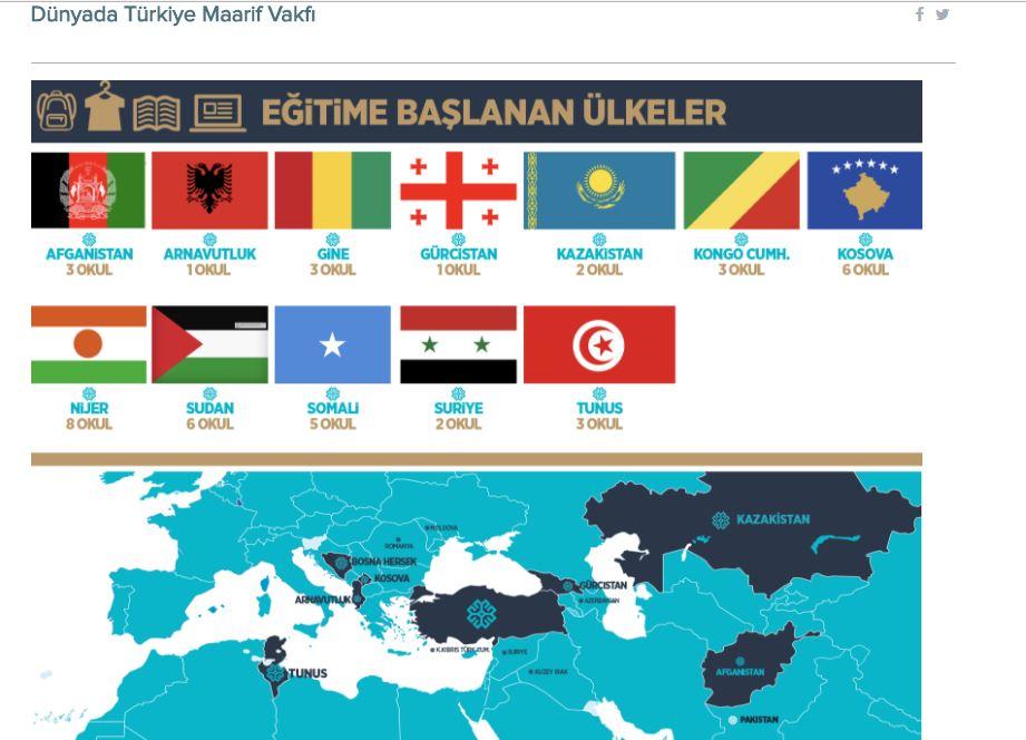 Türkiye Maarif Vakfı 70 Ülkeyle Temas Kurdu