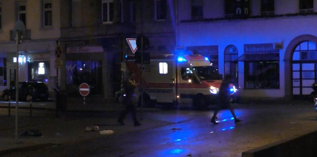 Karlsruhe'de Ticari Taksi Kaza Yaptı…