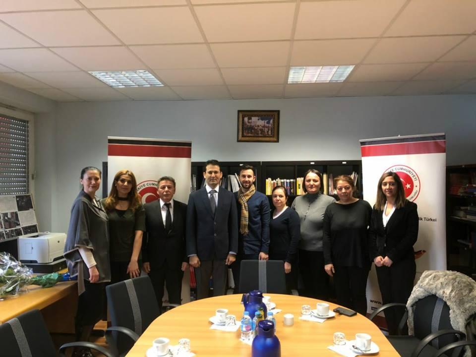 Ettlingen Eğitim Gönüllülerinden Başkonsolos Nevzat Arslan'a Ziyaret
