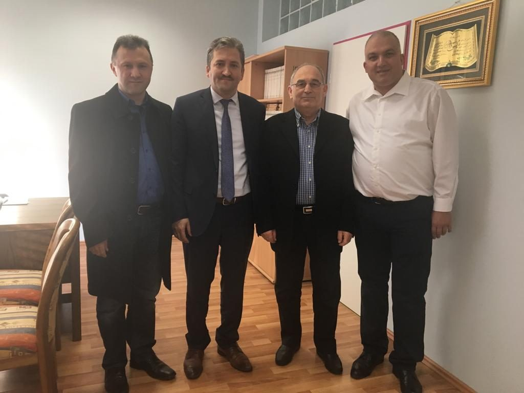 Durlach DİTİB Cami Yönetiminden Ziyaret