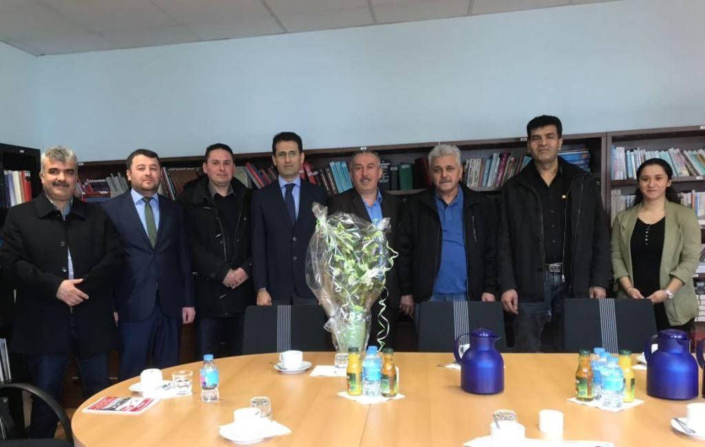DİTİB'den Nevzat Arslan'a Ziyaret