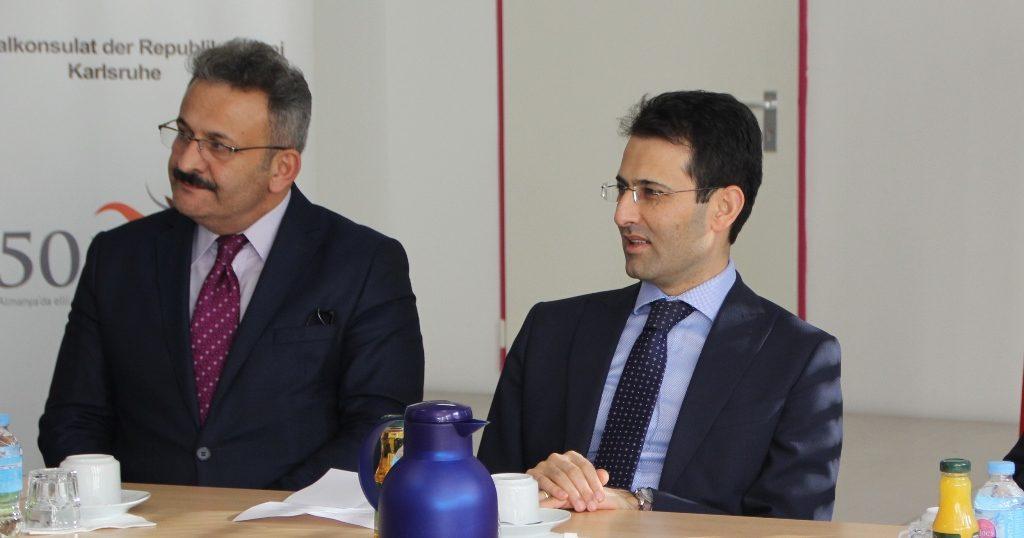Karlsruhe Başkonsolosluğu Eğitim Ataşeliği Öğretmenler Toplantısı Gerçekleşti
