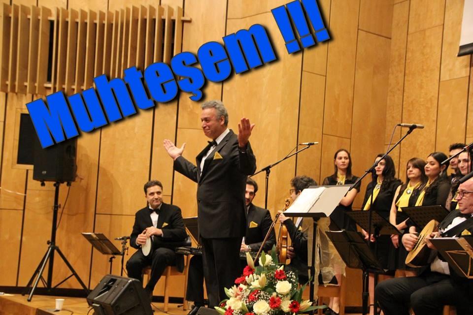 Alkışlar Karlsruhe Türk Müziği Korosuna