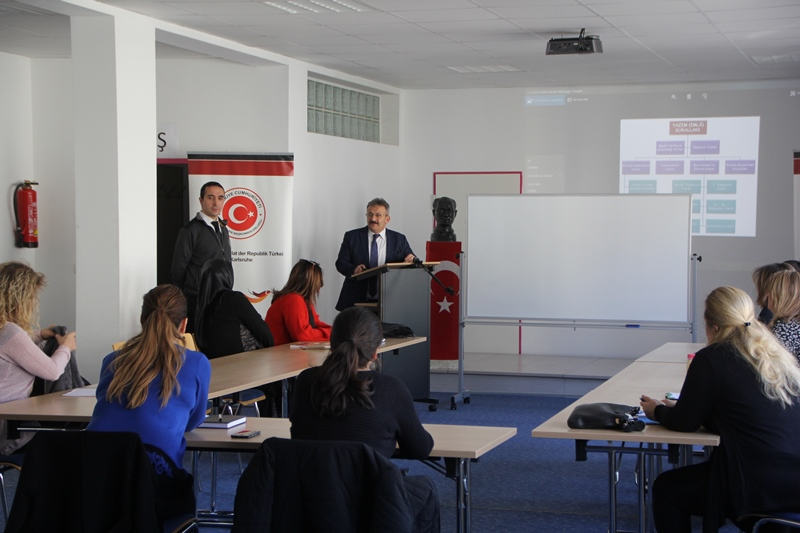 Karlsruhe Başkonsolosluğu Eğitim Programları Başladı