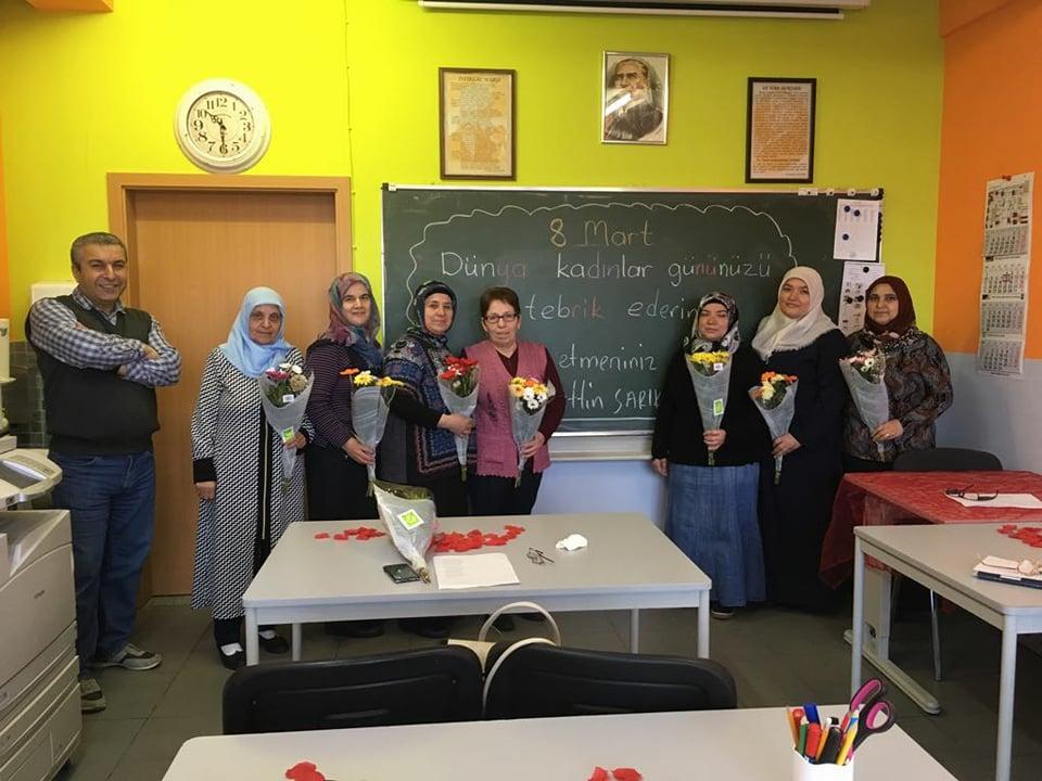 Türk Anne Okulunda 8 Mart Dünya Emekçi Kadınlar Günü Kutlandı