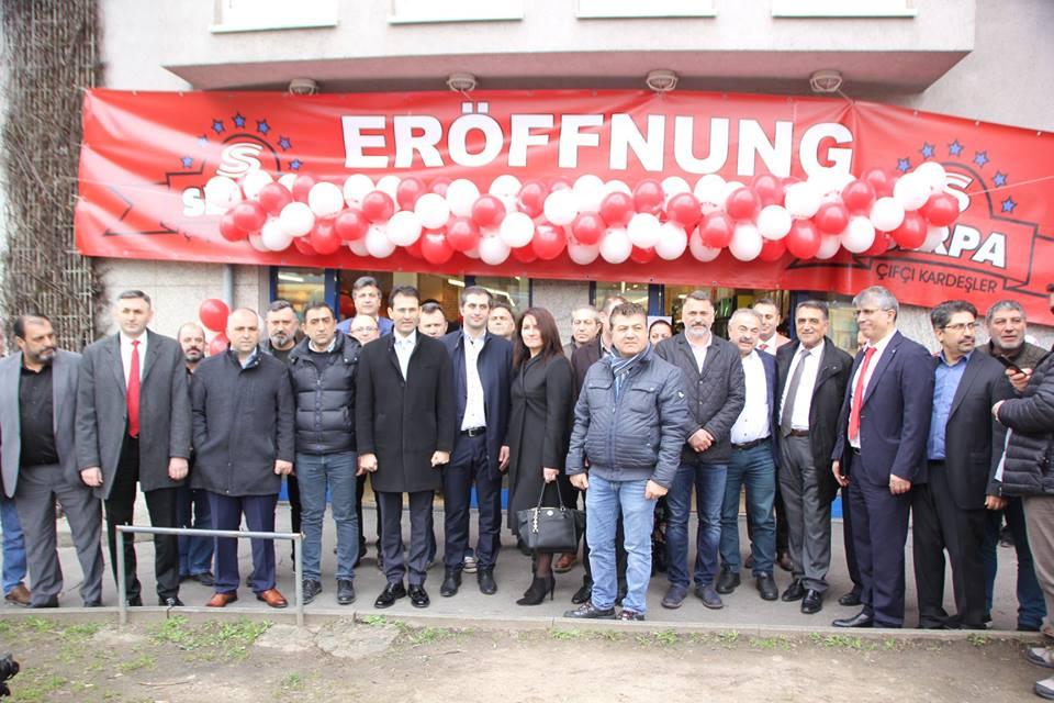 SERPA MARKT Karlsruhe'de 8 inci Şubesini Açtı