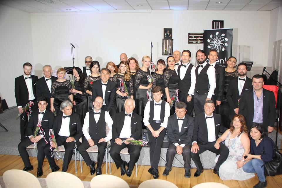 AHENK Türk Sanat Müziği Topluluğu Ünlü Bestekar  Hacı Arif Bey'i Konser İle Andı