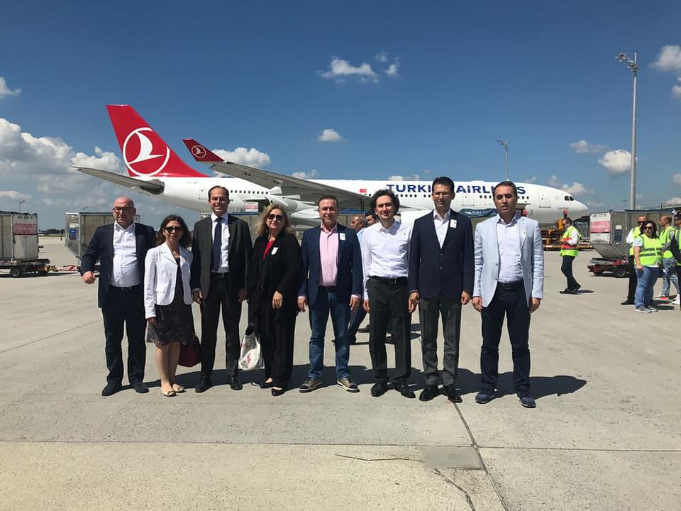 Oy Torbaları Ankara'ya YSK ve Siyasi Temsilciler Nezaretinde Gönderildi