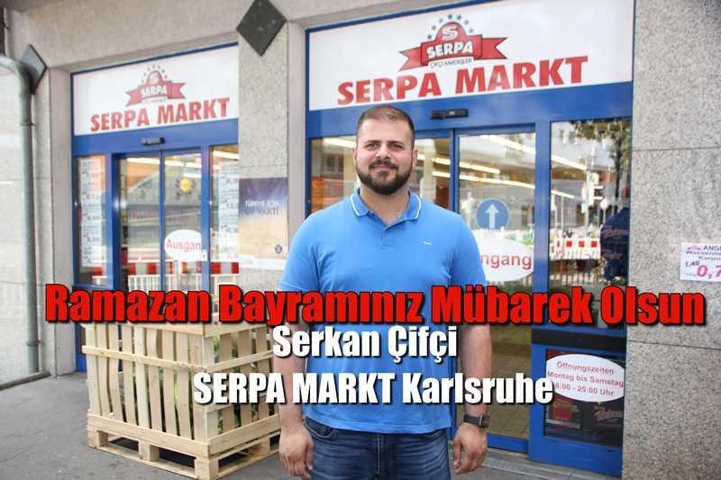Serkan Çifçi ' Ramazan Bayramınız Mübarek Olsun.'