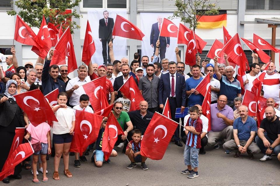 15 Temmuz Milli Birlik ve Demokrasi Etkinliği Mannheim Kentinde Düzenlendi