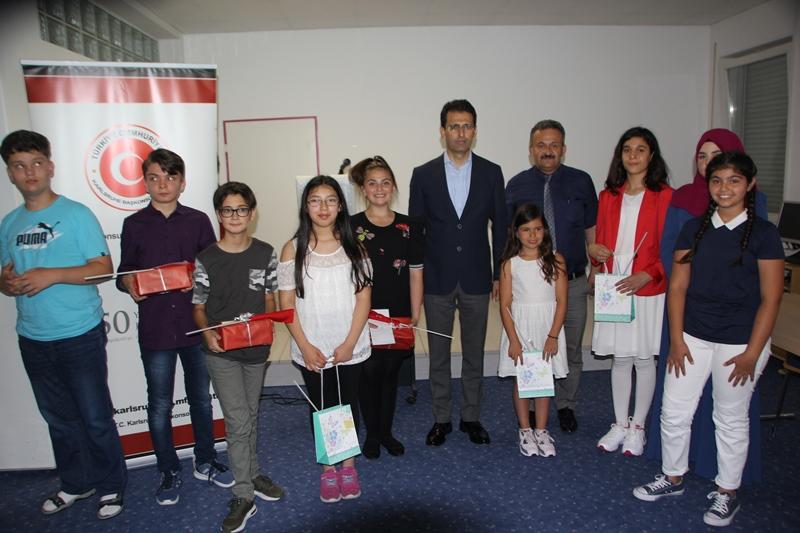 Nevzat Arslan ' Türkçe dersi öğrencileri başarılı.'