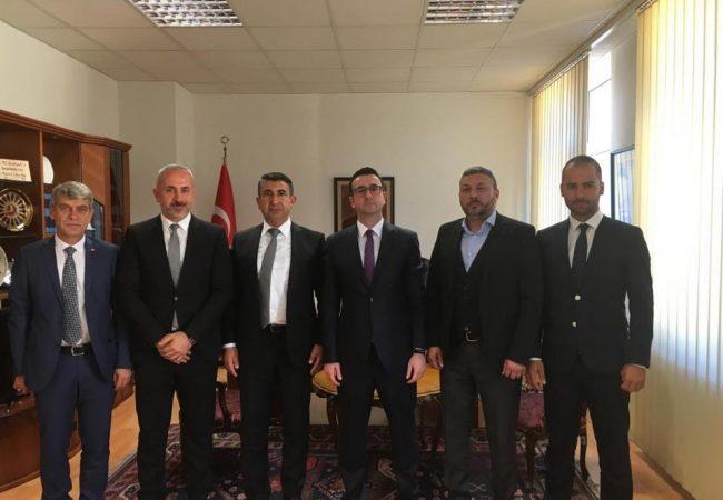 Başkonsolosa, UID Württemberg  Başkanı Cahit Öner'den Ziyaret