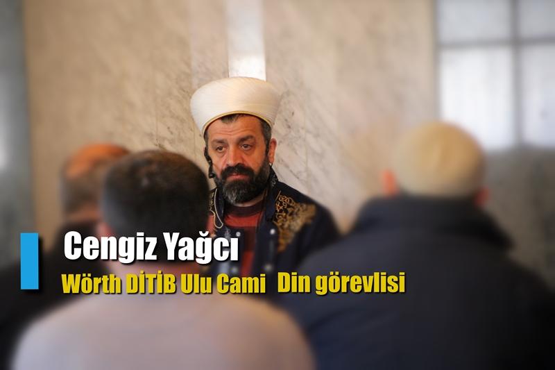 Wörth DİTİB Ulu Cami Yeni Din Görevlisi Cengiz Yağcı, Görevine Başladı