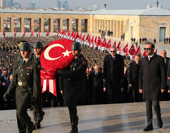 Atatürk'ün ebediyete intikalinin 80. yıl dönümü