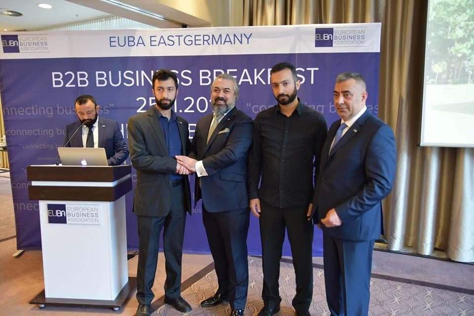 """EUBA Doğu Almanya """"Business Bridge"""" Projesini Başlattı"""
