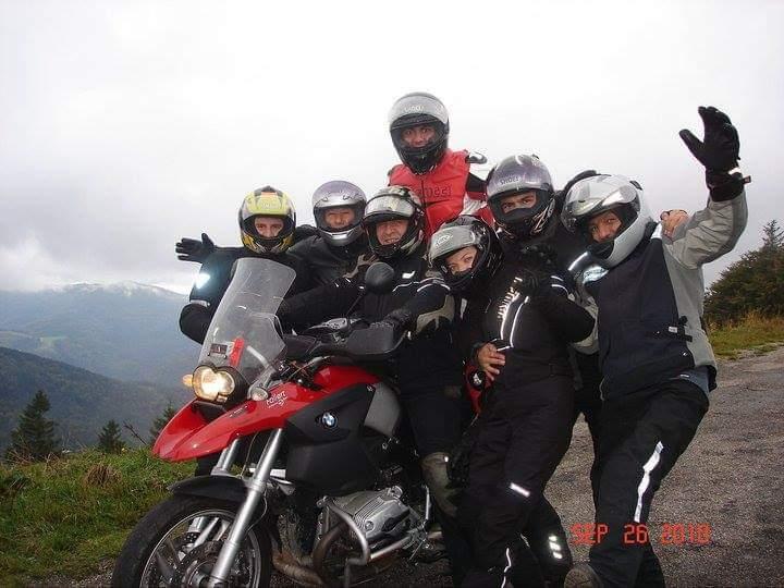 Motosiklet Tutkunları Buluşuyor