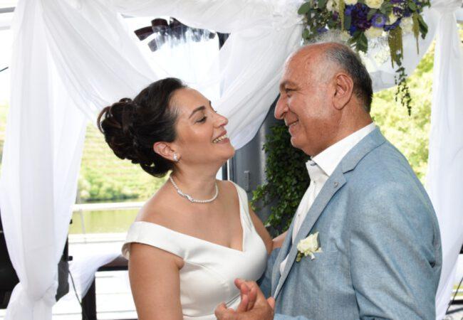 Koronada en güzel düğün