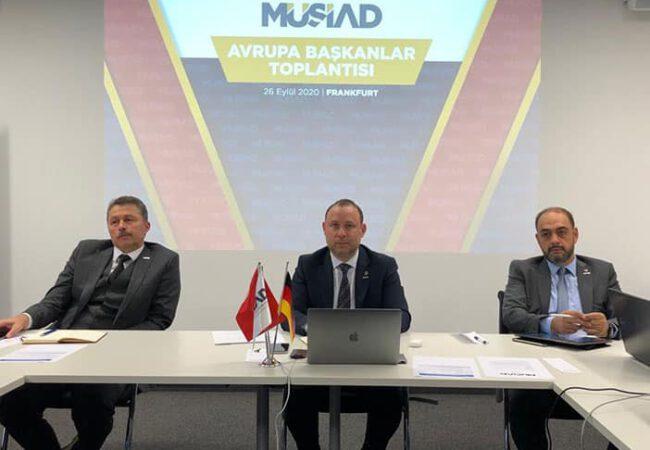 MÜSİAD Avrupa Başkanlar Toplantısı Düzenlendi
