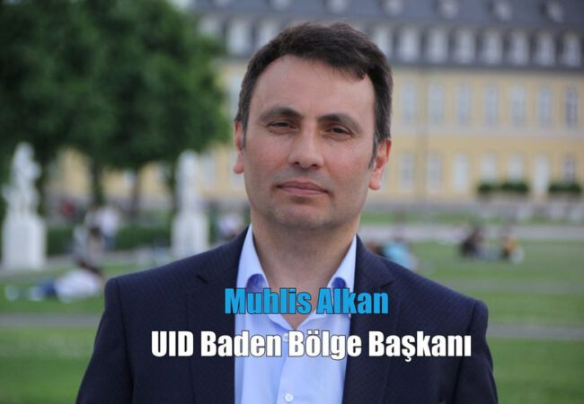 UID Baden Bölgesi Başkanı Muhlis Alkan, evi yangında zarar gören aileye geçmiş olsun dedi.