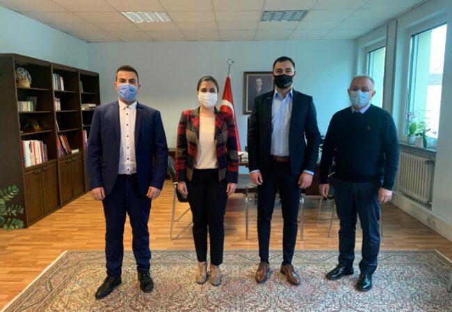 Genç MÜSİAD, Karlsruhe Başkonsolosu Banu Terzioğlu'nu ziyaret etti