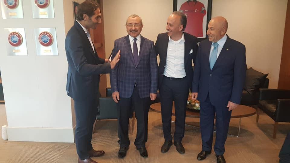 TFF İsmail Erdem - EFTA Kemal Akyol - TFF Nihat Özdemir