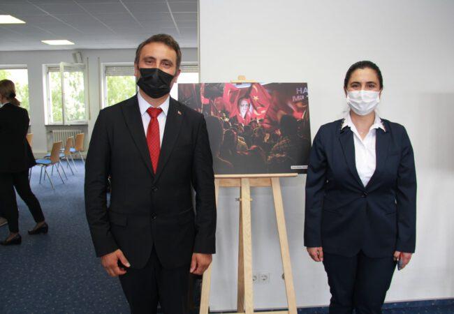UID Karlsruhe Şube Başkanı Muhlis Alkan, ' Bu felaketi Rabbim bir kez daha bu millete yaşatmasın'