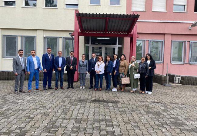 UID Baden-Baden Başkanı Fahri Yeşil, Başkonsolos Banu Terzioğlu'na nezaket ziyaretinde bulundu